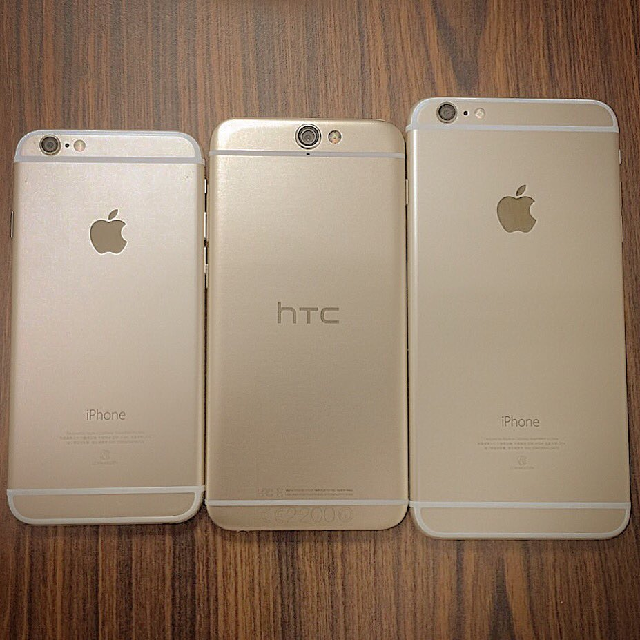 iPhone family. #fake #htc https://t.co/k5f0hqANjy