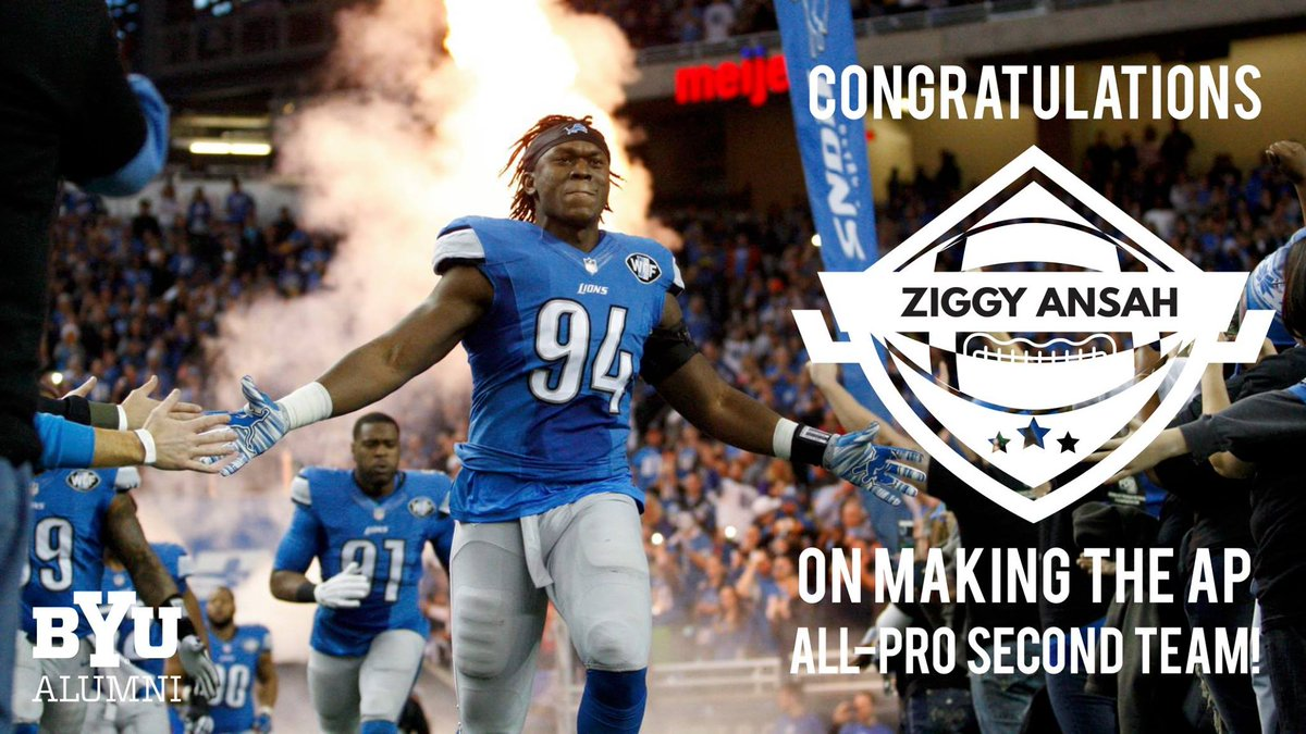 Congrats to @Ziggy_Ansah for making the AP All-Pro Second Team! @BYUfootball #GoCougs! https://t.co/gPqmL5MTXN