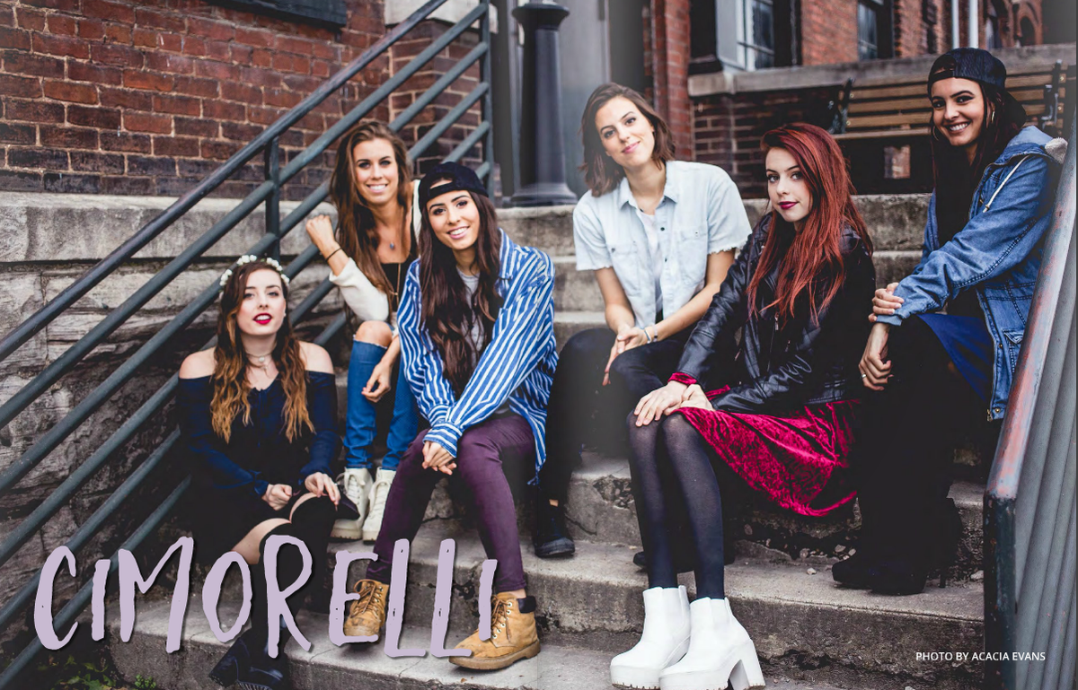Six sisters, one amazing band: discover @Cimorelliband in the new @BCTPress, out now.  https://t.co/A5QJQGmAyC https://t.co/wQnfpKWUOk