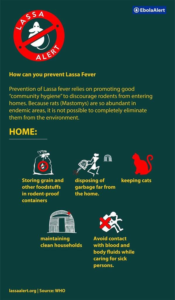 Ways to prevent #LassaFever please read through image. VERY IMPORTANT NOTICE https://t.co/gBbrvduK8K