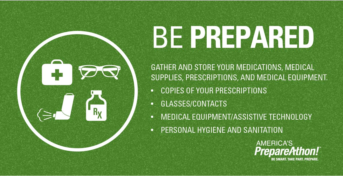 During severe #winterweather have copies of your prescriptions and properly store your medications. #wintersafety https://t.co/18sBsEu3al
