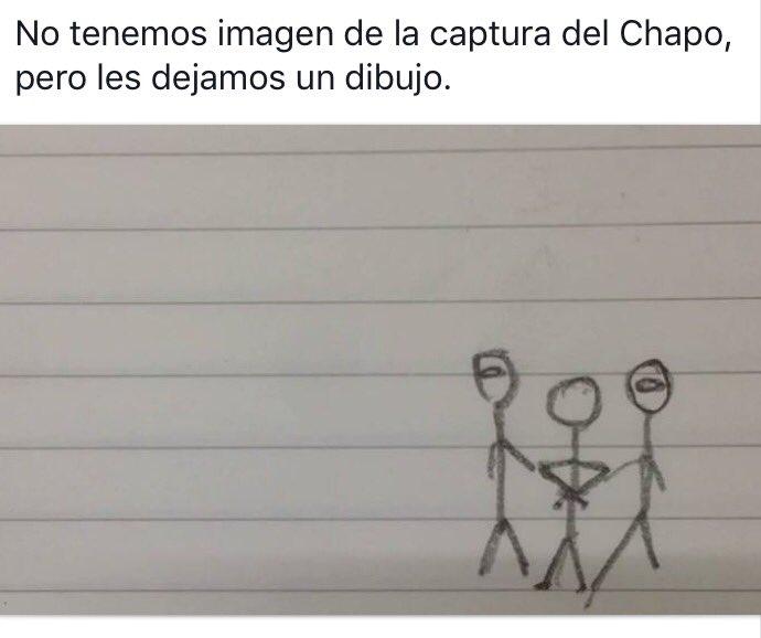 Comienza el humor con la captura de #ElChapo https://t.co/YV6jF5iYsP