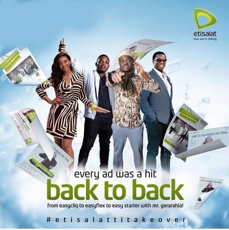 """Scenes if @MTNNG replies @etisalat_9ja with """"Egbon etisalat, if you want the best service, come and collect it""""."""