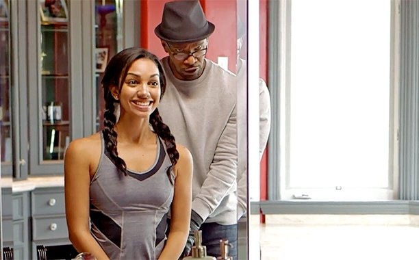 Jamie Foxx channels Creed to prepare his daughter for her gig as Miss Golden Globe: