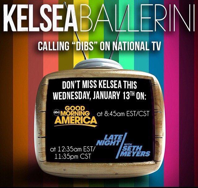 @KelseaBallerini is taking over your tv's next week! https://t.co/40q8A94ZkQ
