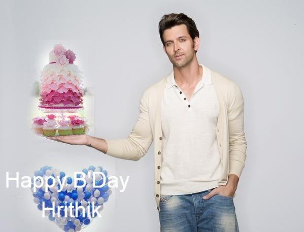 # happy birthday 1days to go. love you Hrithik Roshan