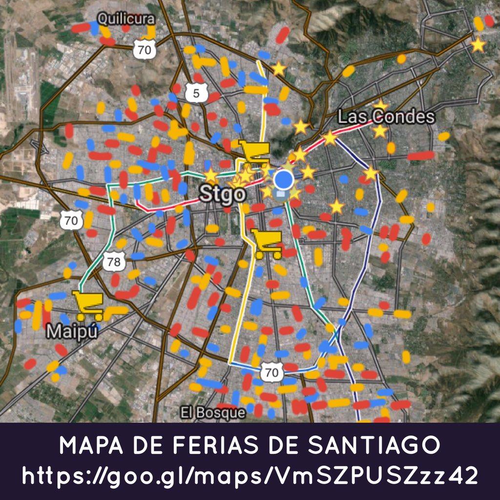 #ColusionCiudadana MAPA DE FERIAS DE SANTIAGO https://t.co/nyXKda4akE ¡Domingo 10/Enero nadie al supermercado! /RT!! https://t.co/UE8d28fL0L