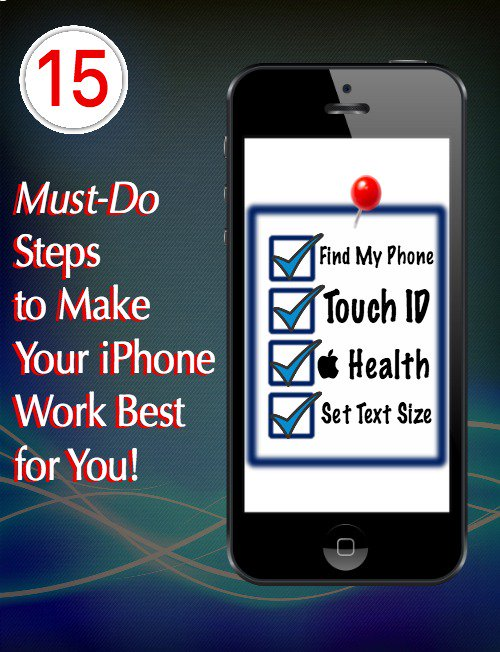 15 Must-Do Steps to Make Your iPhone Work Best for You! https://t.co/M4E2NH39jE via @wonderoftech #iPhone https://t.co/s3SHL5LiiU