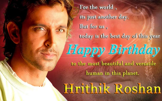 Happy bday hrithik bhai may d yr brings u more success and happinessluv u  birthday hrithik roshan