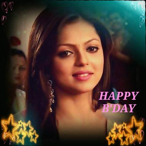 Happy birthday Drashti Dhami..Many many more happy returns of the day..Have a nice day :):):)