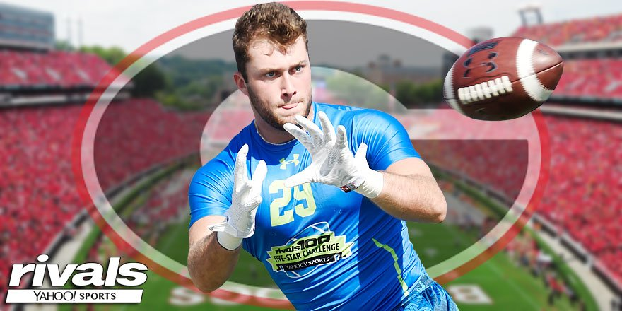 BREAKING: The nation's No. 1 tight end, 5-star Isaac Nauta, has committed to #UGA  https://t.co/gAxsYabpHC FREE https://t.co/vmkImUEjxE