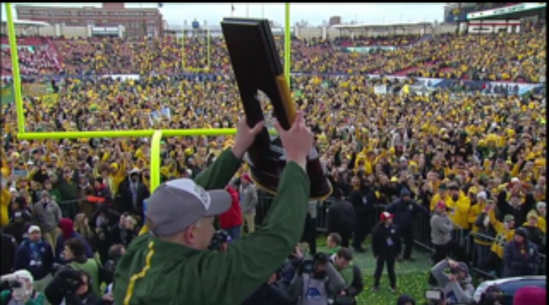 @NDSUfootball is what TRADITION, FAMILY, GREATNESS and LEGACY are all about. The best EXAMPLE in sports. PERIOD. https://t.co/cEUlttmEpj