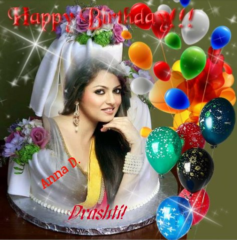 Happy Birthday mrs Drashti Dhami.