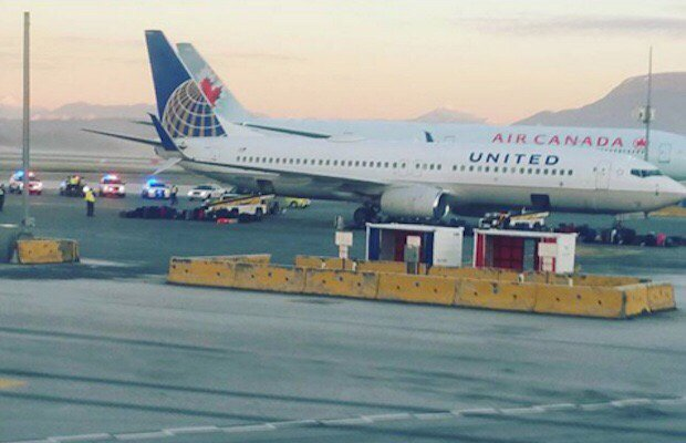 United Airlines flight diverted to YVR due to 'threatening message' from passenger
