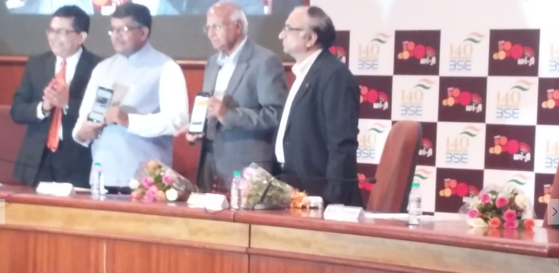 Communications & IT and Law & Justice Minster inaugurates @TataDocomo's #publicwifi service at @BSEIndia #Mumbai https://t.co/n2QvtGwz1c