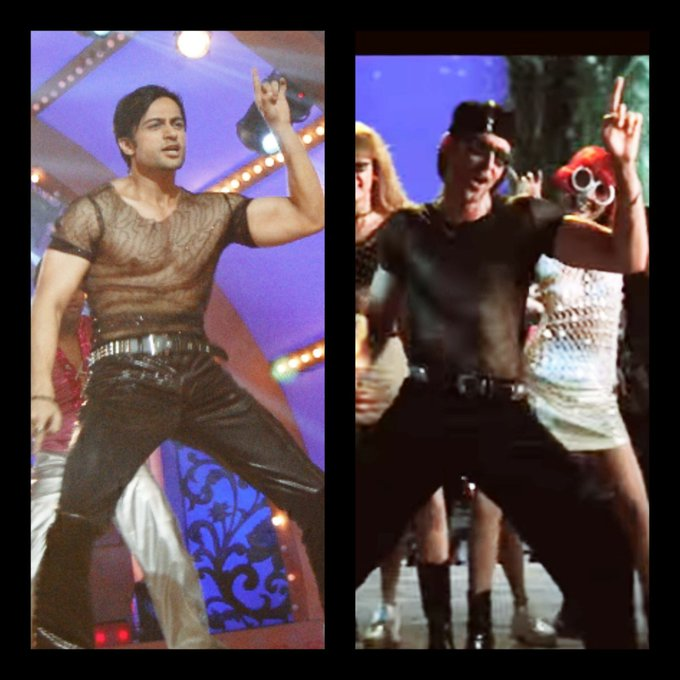Who inspired me 2 do my first ever dance step..it\s Hrithik Roshan..Wish u a very very Happy Bday Sir