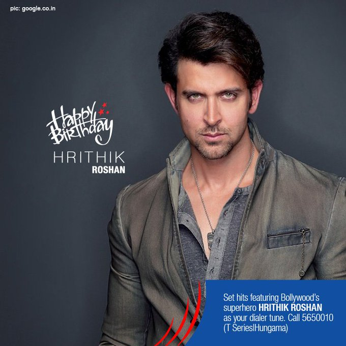 Known as the God of Dance and the Greek God of Bollywood, here s wishing HRITHIK ROSHAN a very happy birthday.