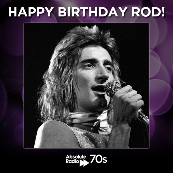 Another big birthday today. Many happy returns to the iconic Rod Stewart!