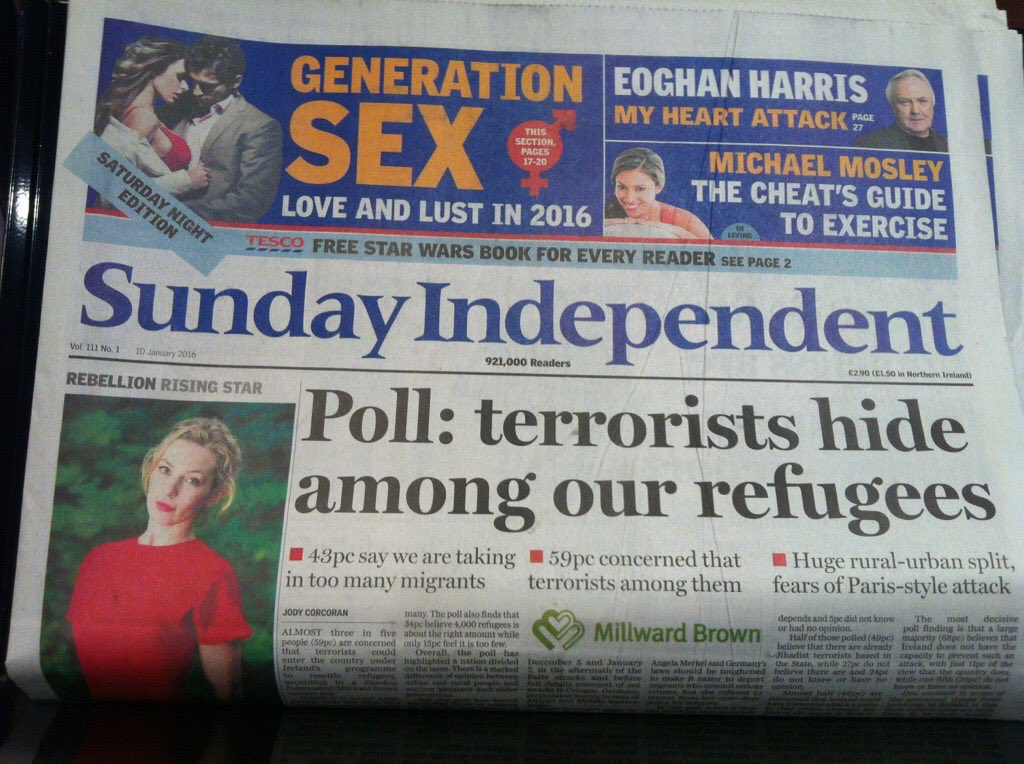 Gutter journalism at its most destructive. Front page of #Sindo https://t.co/quinzywtDS