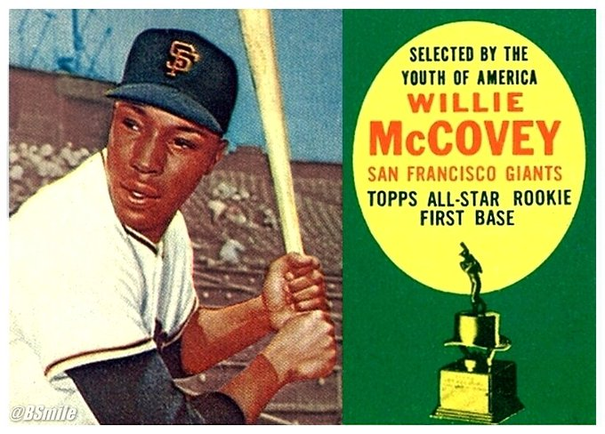"Happy 78th Birthday Willie McCovey! HOF legend clubbed 521 HR\s w/the SFGiants, Padres & A\s. Cheers ""Stretch\""!"