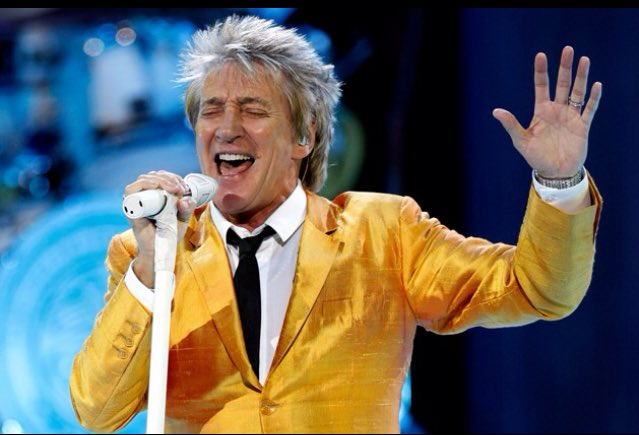 Today is the birthday of Rod Stewart, who turns 71!. Happy birthday, Rod!