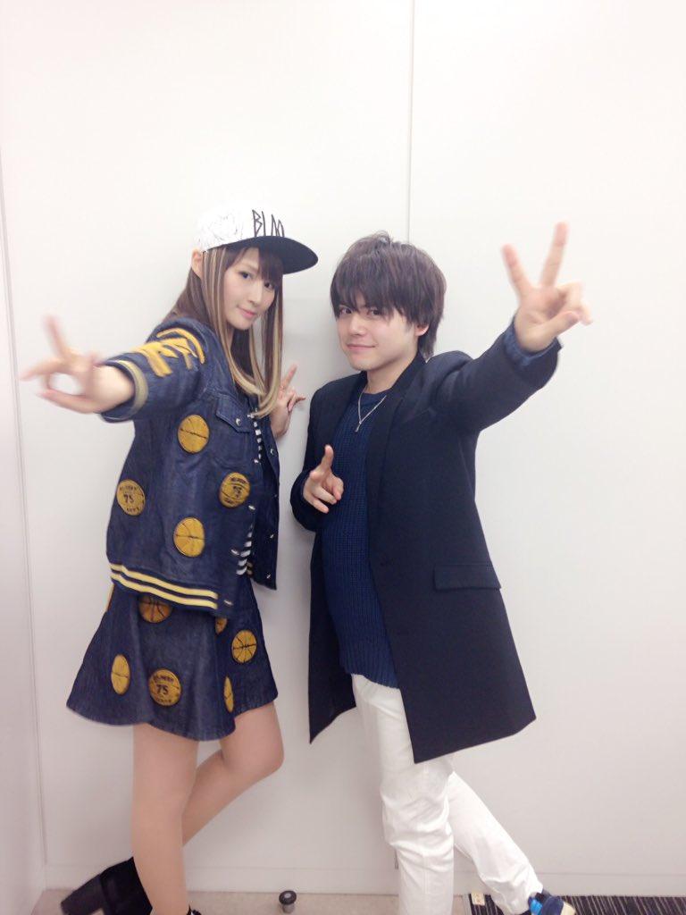 ◎小林ゆうですなう。『Classroom☆Crisis』霧羽ナギサ役の内田雄馬さんとお撮りいただいたお写真ですなう!あり