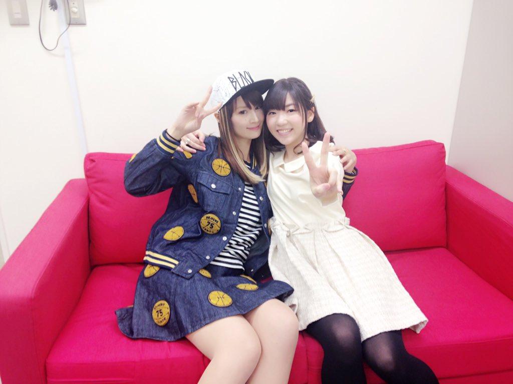 ◎小林ゆうですなう。『Classroom☆Crisis』瀬良ミズキ役の小澤亜李さんとお撮りいただいたお写真ですなう!あり