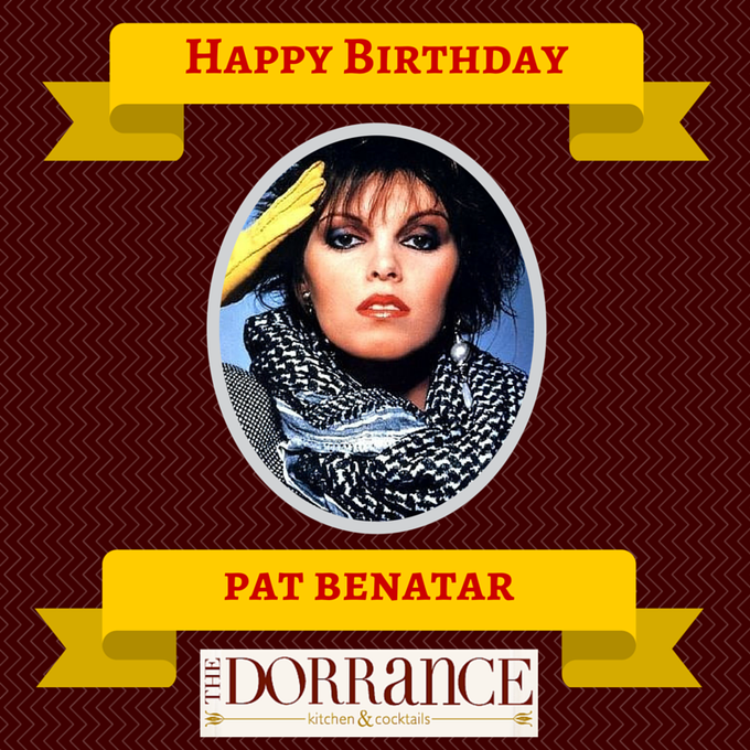 Happy Birthday Pat Benatar!