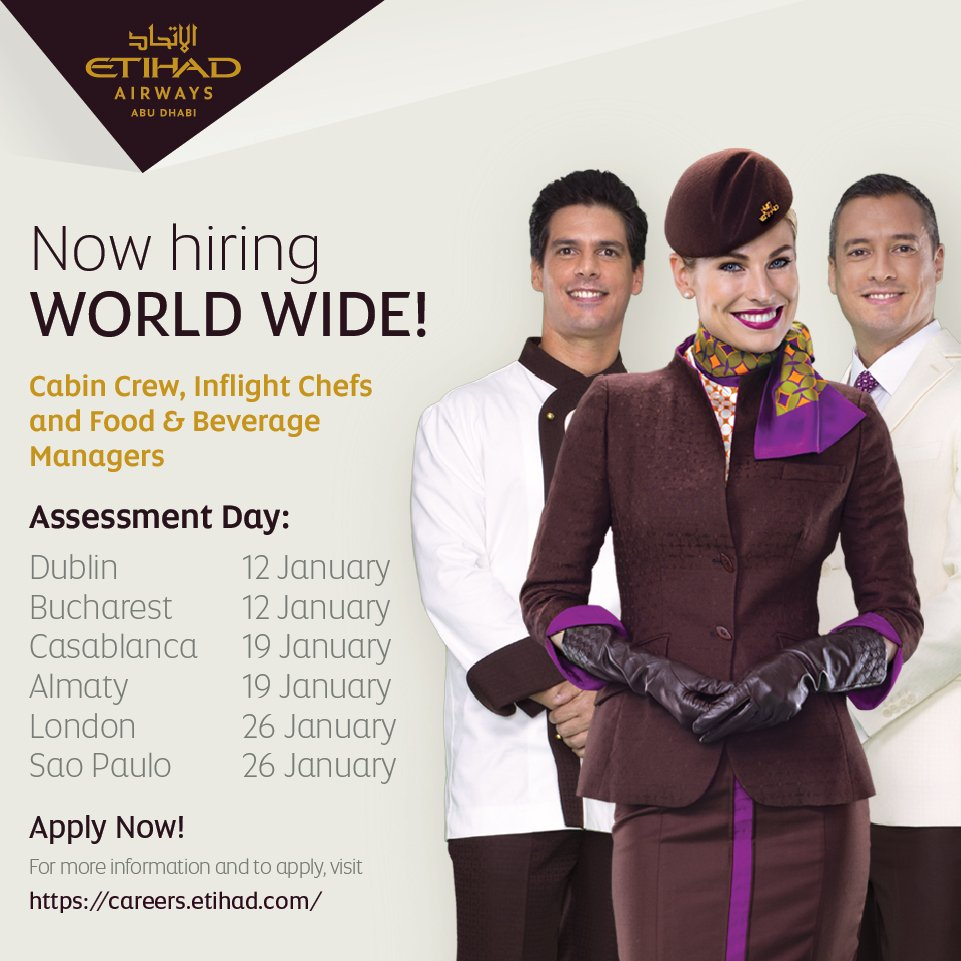 A new career for a New Year?  Join the Airline of the Year 2016!  Apply