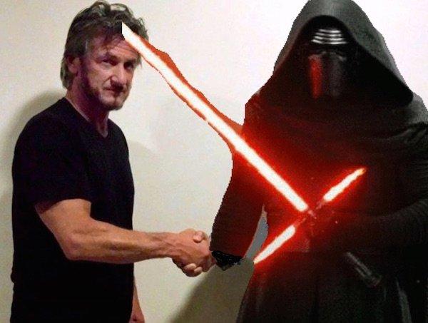 Read Sean Penn's account of his secret visit with Kylo Ren. https://t.co/3fGStQ3rhb