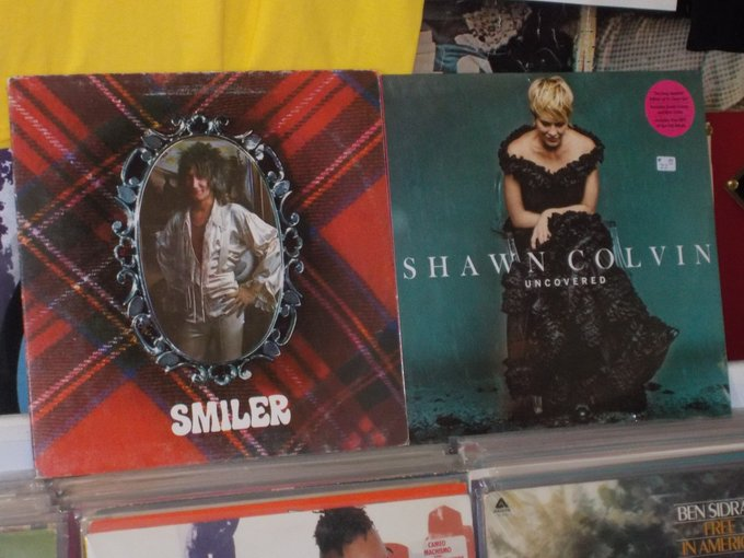 Happy Birthday to Rod Stewart and Shawn Colvin