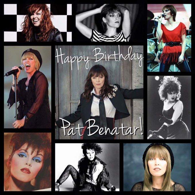 Happy Birthday to Grammy award winner/singer/songwriter Rocker Pat Benatar!