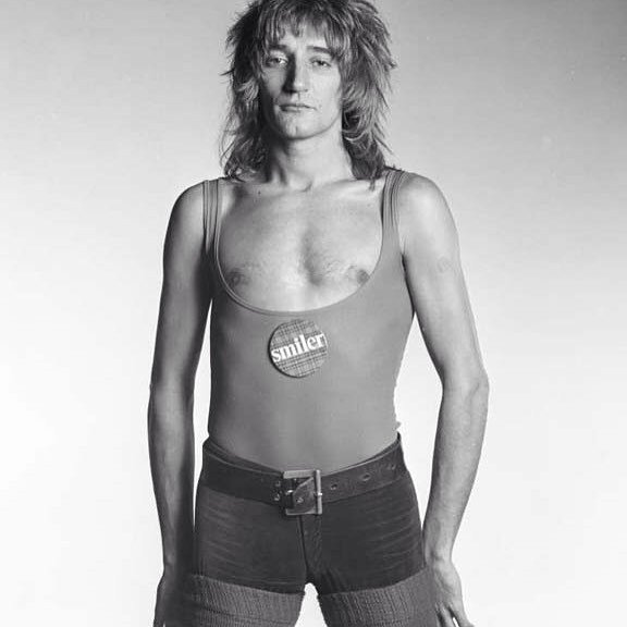 Happy Birthday to this tartan rocker Rod Stewart photography by Steve Lewis for sale throu