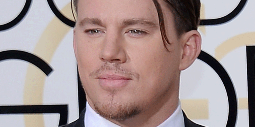Channing Tatum's forelock runs free at the GoldenGlobes—and the internet goes crazy!