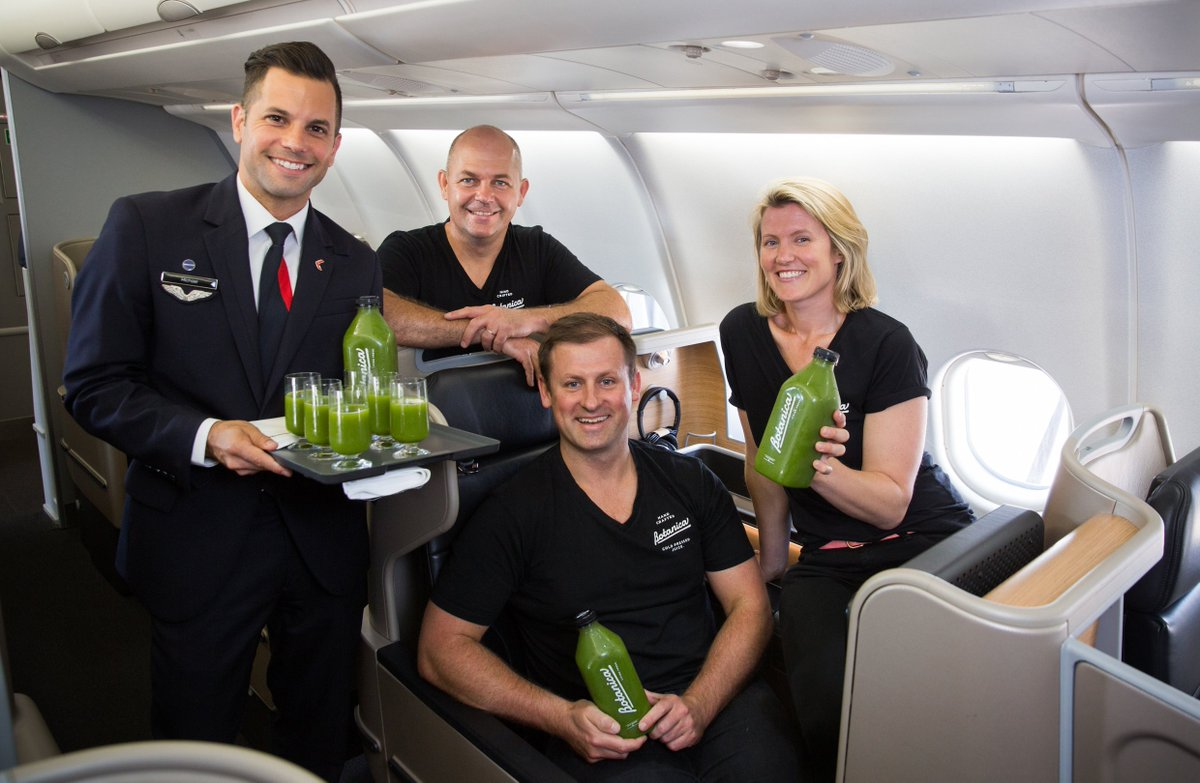 RT @mysmallbusiness: How botanicalife scored a deal to get its pressed juices served on @Qantas