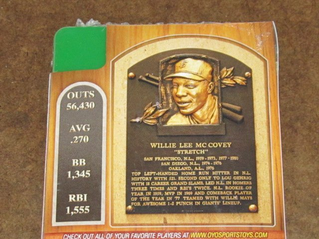 Happy Birthday to  of Famer & Willie McCovey! (Thanks