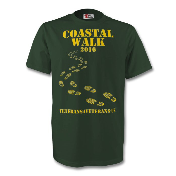 Loving our new #CoastalWalk merchandise- it's arriving this week!@tshirtstudio #PTSD #SupportingOurForces https://t.co/3VQSrRlPnj