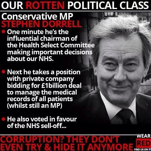 What can British people do about the blatant greed and arrogance of MPs like Stephen Dorrell? Was in #KPMG too https://t.co/NBrAm8nlA6