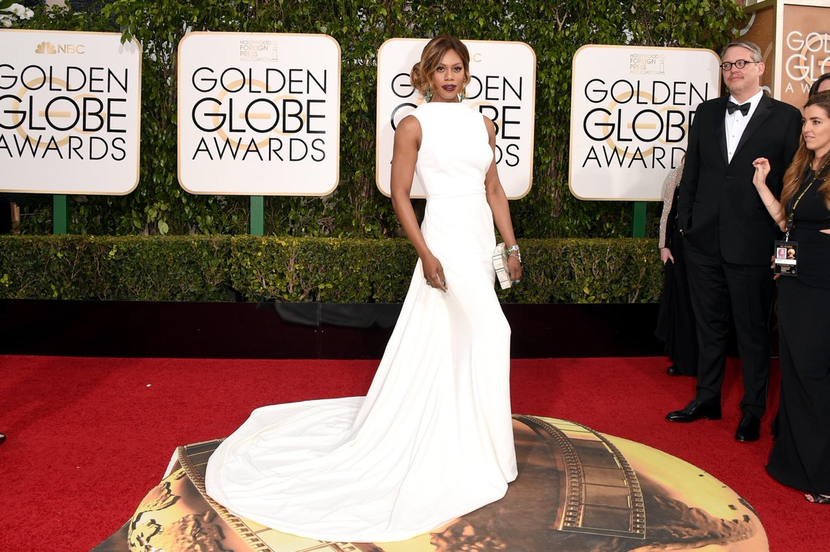 .@LaverneCox just took our breath away in Elizabeth Kennedy. Stunning! #GoldenGlobes https://t.co/81oEIS9qY2