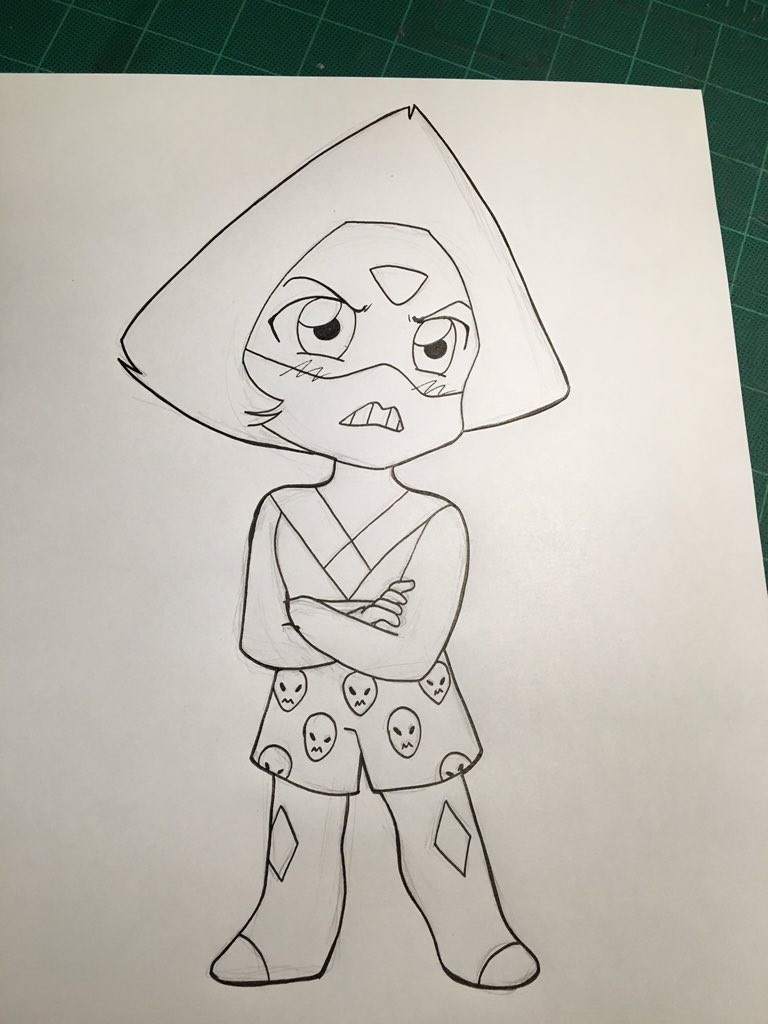 #StevenUniverse spoiler for those who have not seen the latest Steven Bomb, but it's only inked. #clod https://t.co/9FmZsL2j74