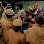 #DalitSuicide   Students protesting outside HRD Ministry detained by police pics via ANI https://t.co/HVyedoL0V1