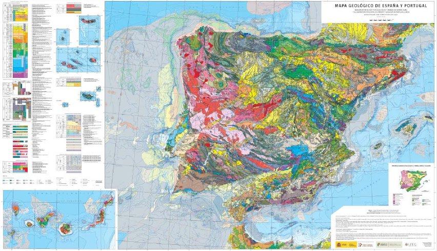 Presentación del nuevo mapa geológico de España y Portugal https://t.co/l2OsiPexkx #geología https://t.co/8CyYdbEJIf
