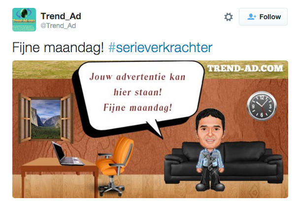Adverteer bij een trending #, wat kan er nou misgaan? https://t.co/J3vo6lvhQ0