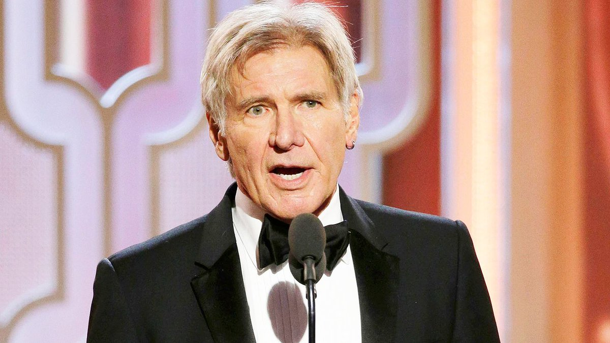 Harrison Ford Was Everyone's Cranky Grandpa At The