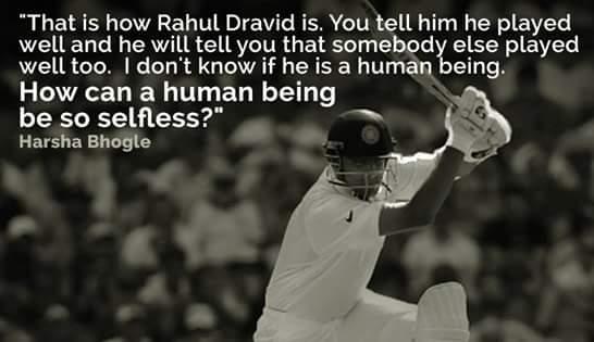 Happy birthday legend. .Mr. Rahul Dravid