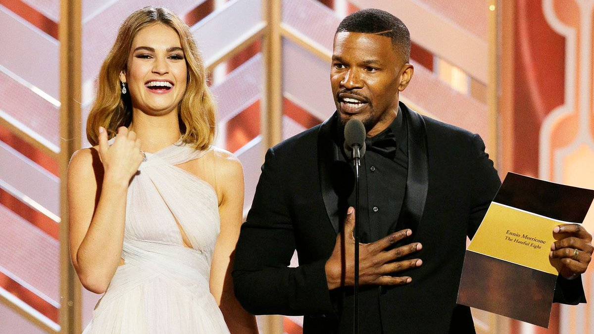 Jamie Foxx Pulled A Steve Harvey & Congratulated 'Straight Outta Compton'