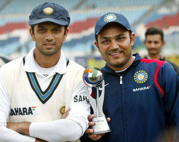 Happy Birthday to The Wall of Indian Cricket Rahul Dravid Paaji!
