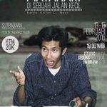 "#Malang @TeaterPelangiUM ""Matahari Di Sebuah Jalan Kecil."" 13-15 Feb 2016. More info --> https://t.co/xUAnur0vbd… https://t.co/yyQCQ0fB9K"