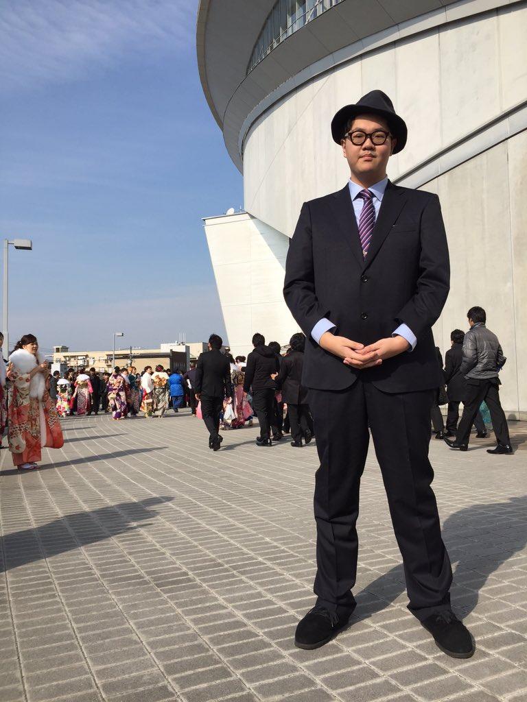 Tehuさん、帽子で成人式に出席wwwwwwwwwwwwwwww