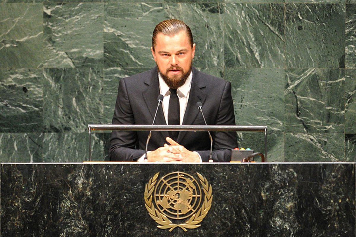 Congratulations @LeoDiCaprio on Best Actor in a Motion Picture @RevenantMovie! #GoldenGlobes & #climate advocate! https://t.co/mAXvN5kdzU